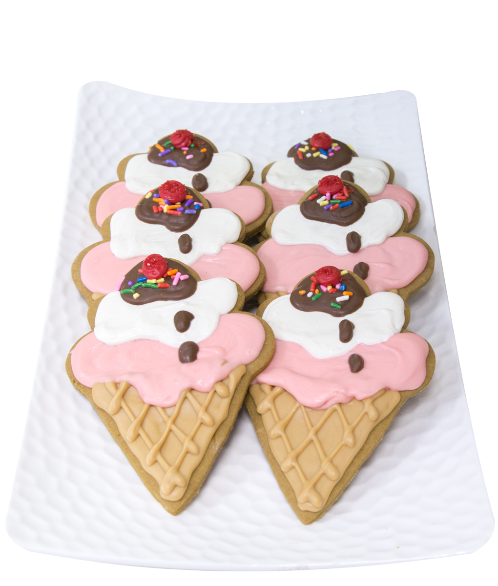 gingerbread ice cream cones boston barkery